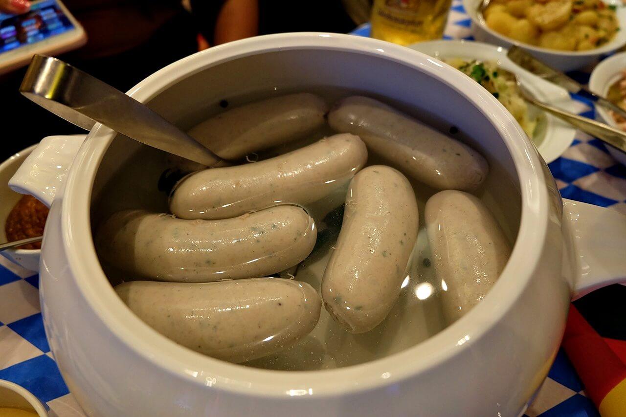 oktoberfest 2018 -- white sausage